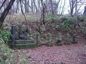 西来院歴住墓地