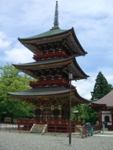 新勝寺 三重の塔